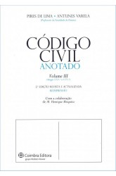Código Civil Anotado - Vol III